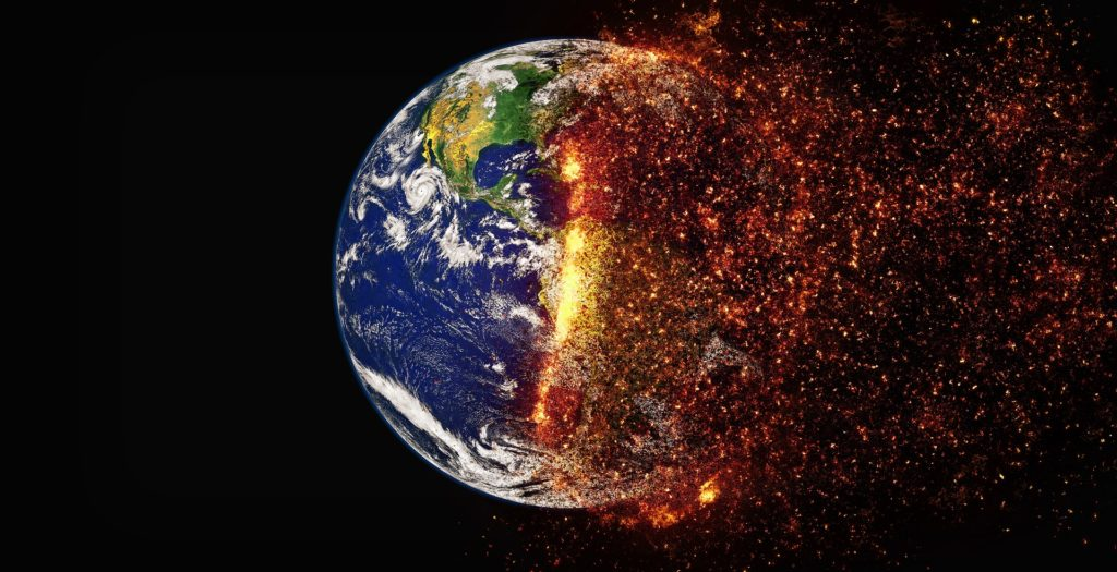 Threatening factors that can face living  is beings Global warming