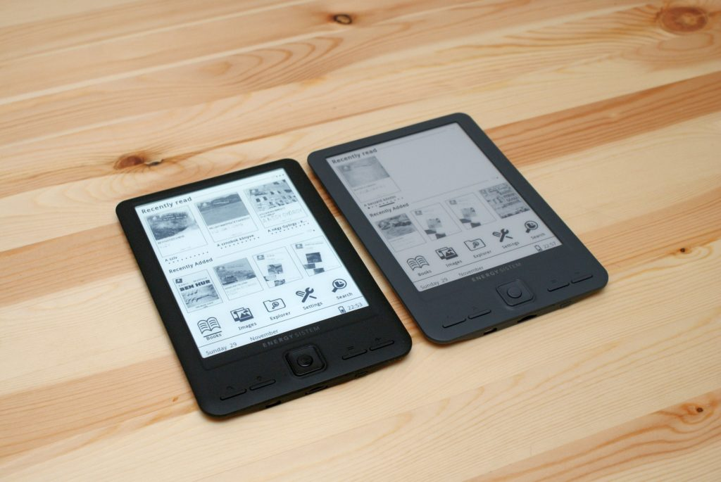 You can read several books at once using multiple eBook readers