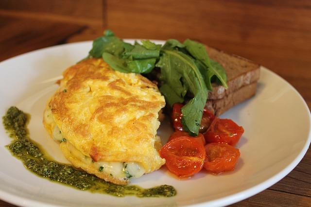 Fluffy omelets