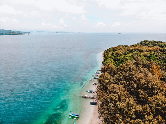The most beautiful islands Lombok, Bali