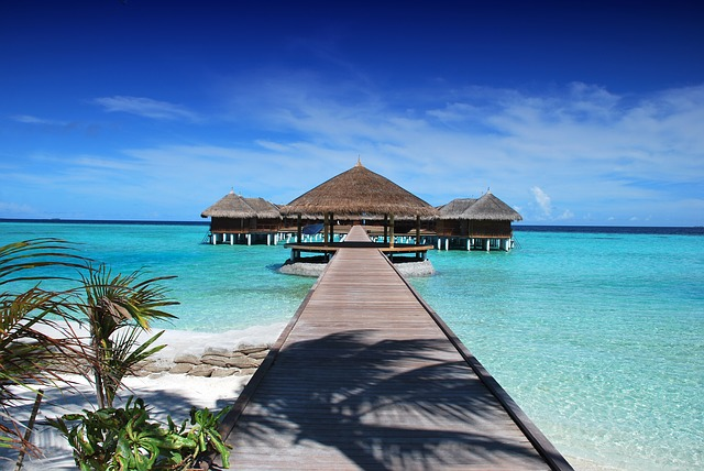 The most beautiful island in Maldives