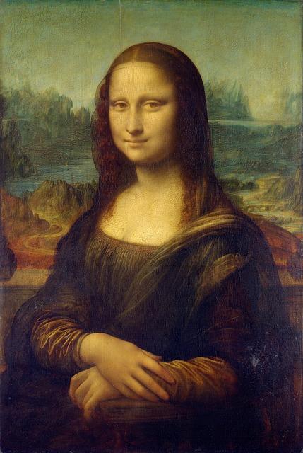 Mona Lisa the amazing world-famous paintings