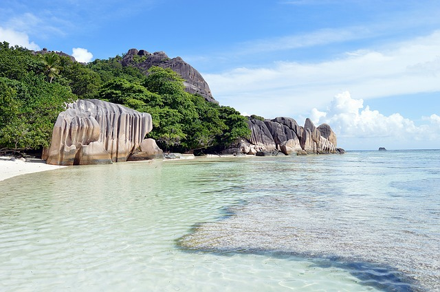 The most beautiful island Seychelles island
