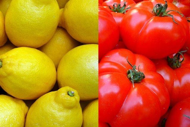 Lemons and Tomatoes