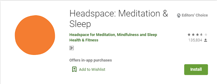 Smartphone apps to relieve your stress-Headspace