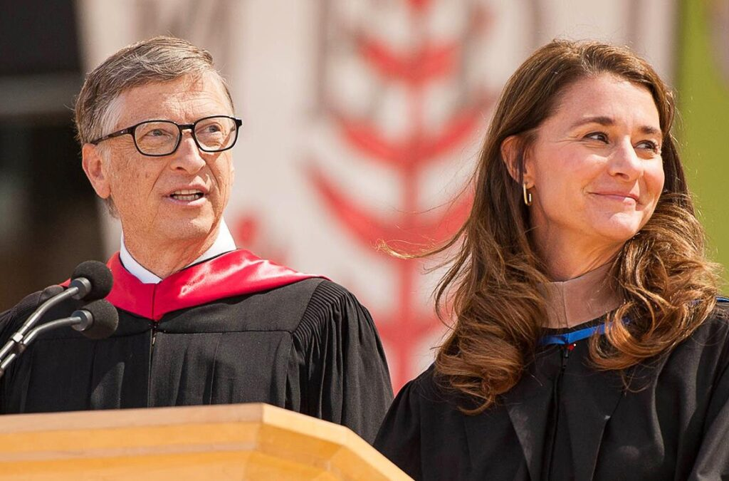 Bill Gates and Belinda