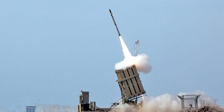 Iron Dome Intercepts Rockets