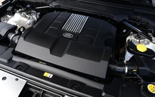 Range Rover V8 Engine