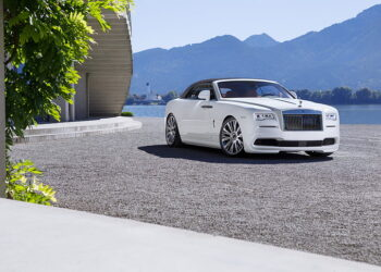 Rolls Royce White Luxury Car