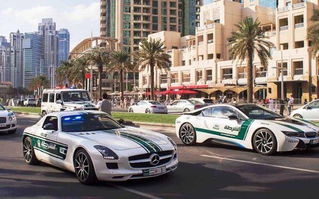 Dubai Police Cars Dubai