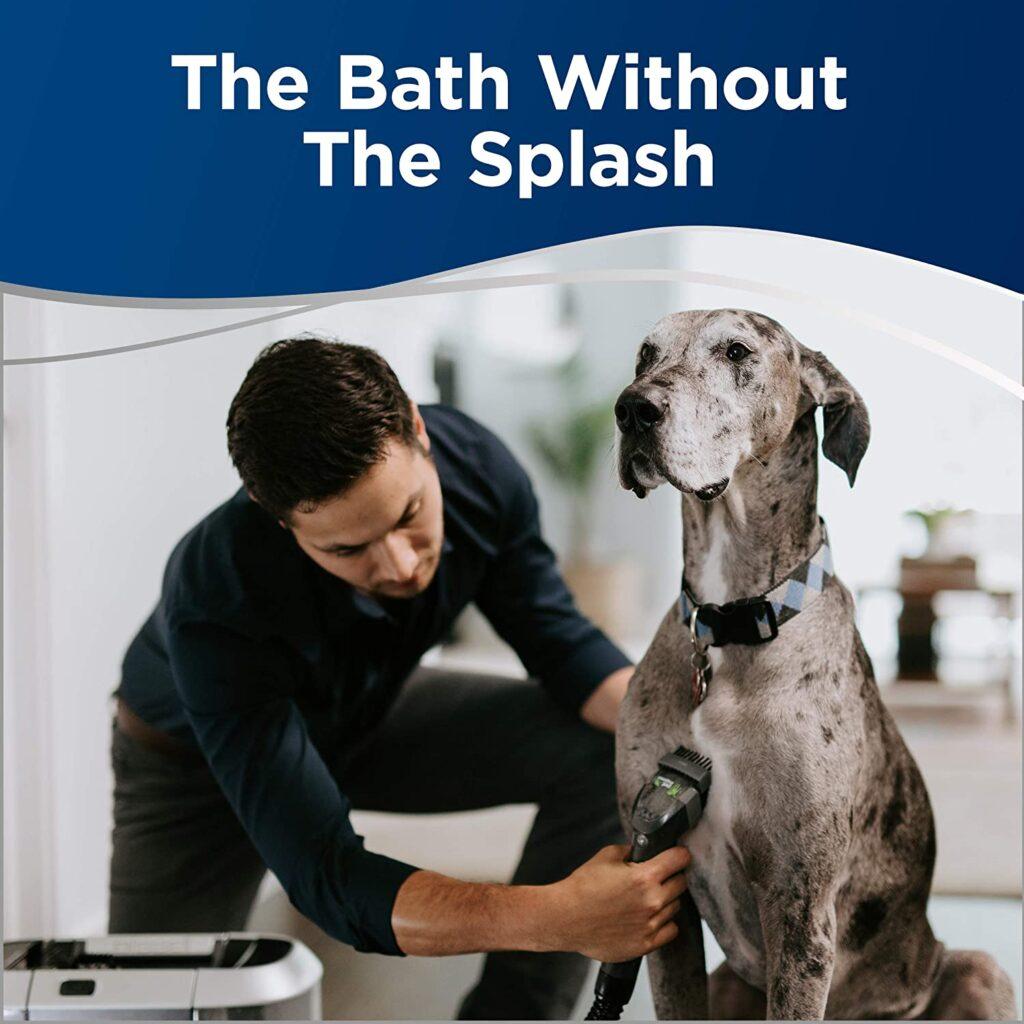 Bissell BARKBATH Dual Use Portable Dog Bath & Deep Cleaner