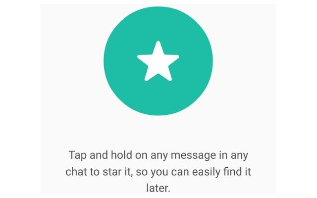 Starred Messages